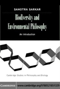 Cover Biodiversity and Environmental Philosophy