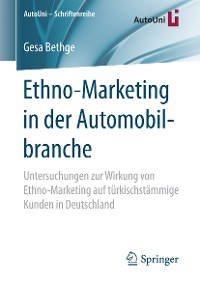 Cover Ethno-Marketing in der Automobilbranche