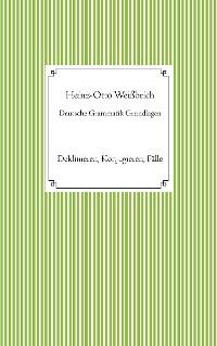 Cover Deutsche Grammatik Grundlagen