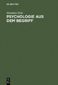 Cover Psychologie aus dem Begriff