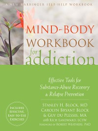 Cover Mind-Body Workbook for Addiction