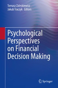Cover Psychological Perspectives on Financial Decision Making