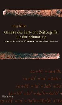 Cover Genese des Zahl- und Zeitbegriffs aus der Erinnerung