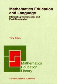 Cover Mathematics Education and Language