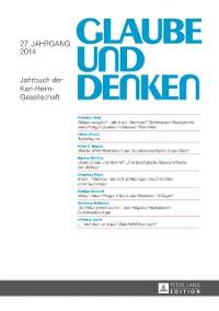 Cover Glaube und Denken