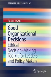 Cover Good Organizational Decisions