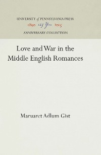 Cover Love and War in the Middle English Romances
