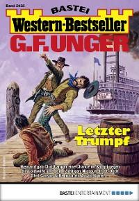 Cover G. F. Unger Western-Bestseller 2435 - Western