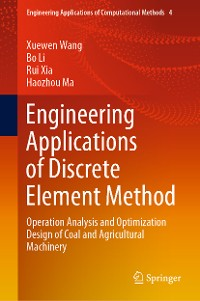 Cover Engineering Applications of Discrete Element Method