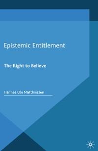 Cover Epistemic Entitlement