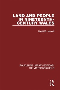 Cover Land and People in Nineteenth-Century Wales