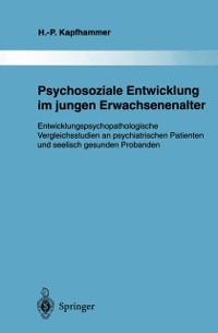 Cover Psychosoziale Entwicklung im jungen Erwachsenenalter