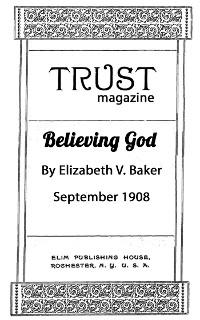 Cover Believing God