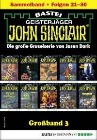 Cover John Sinclair Großband 3 - Horror-Serie
