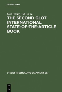 Cover The Second Glot International State-of-the-Article Book