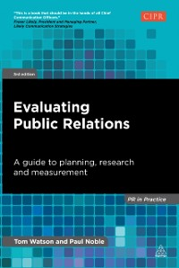 Cover Evaluating Public Relations