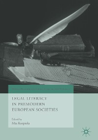 Cover Legal Literacy in Premodern European Societies