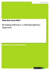 Cover Revisiting Inference. A Multidisciplinary Approach