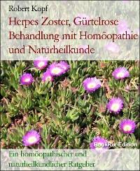 Cover Herpes Zoster, Gürtelrose Behandlung mit Homöopathie und Naturheilkunde