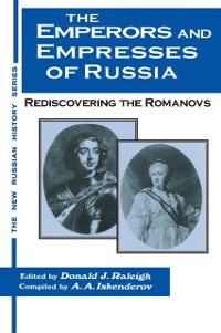 Cover Emperors and Empresses of Russia