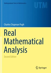 Cover Real Mathematical Analysis