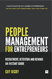 Cover People Management for Entrepreneurs