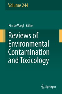 Cover Reviews of Environmental Contamination and Toxicology Volume 244