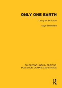 Cover Only One Earth