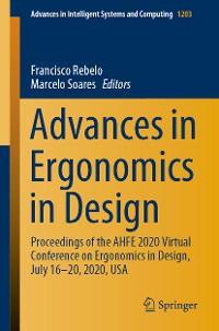 Cover Advances in Ergonomics in Design
