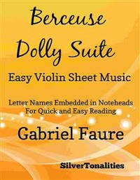 Cover Berceuse Dolly Suite Easy Violin Sheet Music