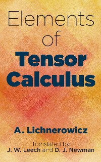 Cover Elements of Tensor Calculus