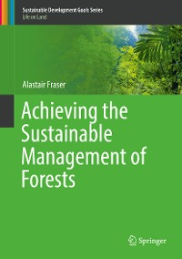 Cover Achieving the Sustainable Management of Forests