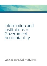 Cover Information and Institutions of Government Accountability
