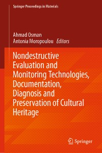 Cover Nondestructive Evaluation and Monitoring Technologies, Documentation, Diagnosis and Preservation of Cultural Heritage