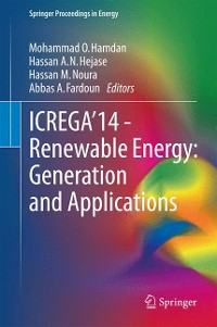 Cover ICREGA'14 - Renewable Energy: Generation and Applications