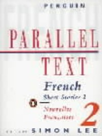Cover Parallel Text:  French Short Stories