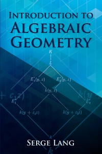 Cover Introduction to Algebraic Geometry