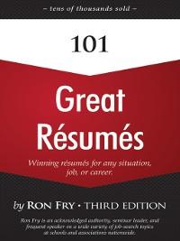 Cover 101 Great Résumés