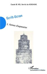 Cover Ecrit-Ecran (Tome 3)