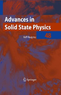 Cover Advances in Solid State Physics 48