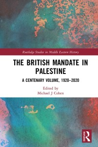 Cover British Mandate in Palestine