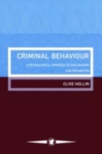 Cover Criminal Behaviour