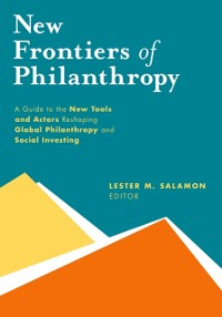 Cover New Frontiers of Philanthropy
