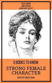 Cover 3 books to know Strong Female Character