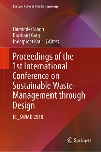 Cover Proceedings of the 1st International Conference on Sustainable Waste Management through Design