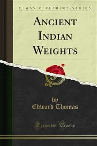 Cover Ancient Indian Weights