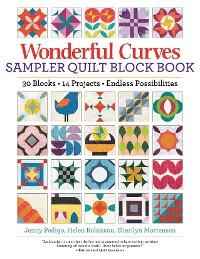 Cover Wonderful Curves Sampler Quilt Block Book