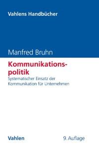 Cover Kommunikationspolitik