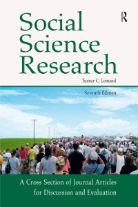Cover Social Science Research