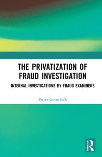 Cover Privatization of Fraud Investigation